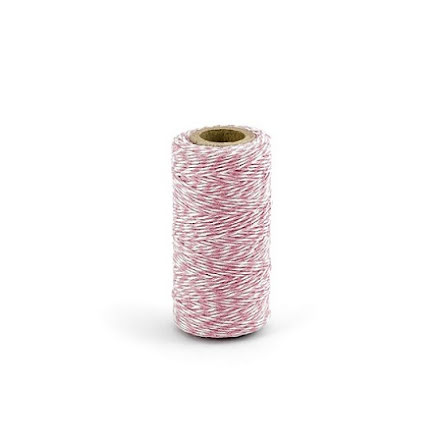 Bakers twine rosa