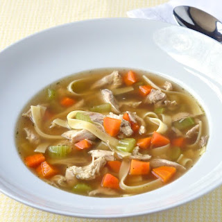 Old Fashioned Chicken Noodle Soup.