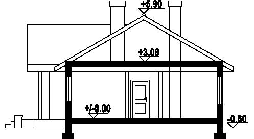 Chmielów 2 dwsg - Przekrój