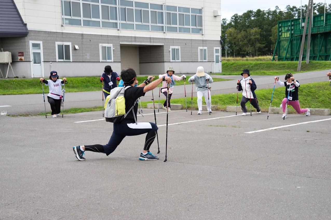 運動後のストレッチ体操