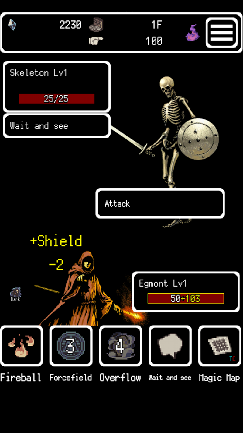 Buriedbornes -Hardcore RPG- Screenshot 2