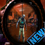 Zombie Hunter Free Zombie Sniper Shooting Game Icon