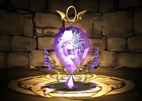 紫晶の氷雪王・ミアーダの耳飾り