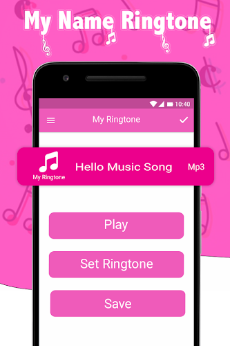 names ringtone with song
