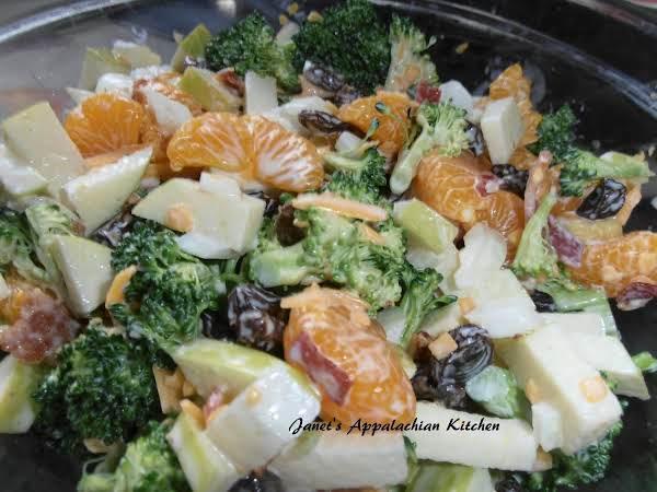 Broccoli And Fruit Salad Recipe