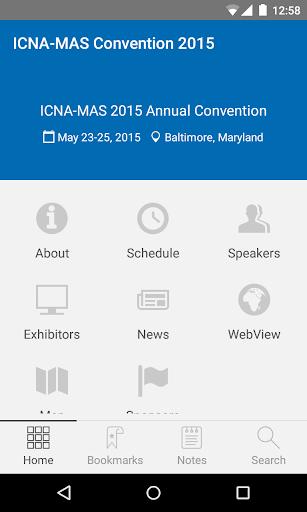 下載ICNA-MAS Convention 2015讓您成就App商業價值新思維!