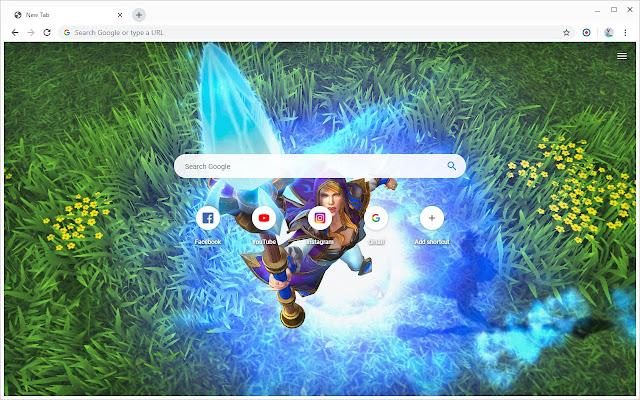New Tab - Warcraft III