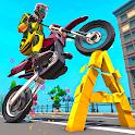 Monster Bike Game Crush: Bike Crushing Games icon