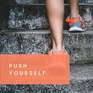 Push Yourself - Instagram Carousel Ad item