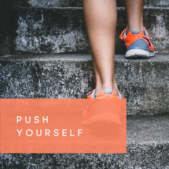 Push Yourself - Instagram Post Template