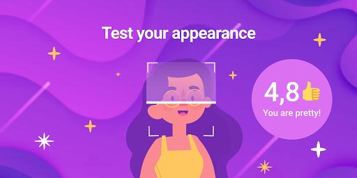 Attractiveness test app screenshot 1