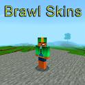 Skins Brawl for Minecraft PE icon