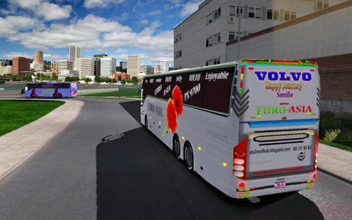 US Smart Coach Bus 3D: Free Driving Bus Games apktram screenshots 11