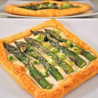 Asparagus and Green Garlic Pastries.