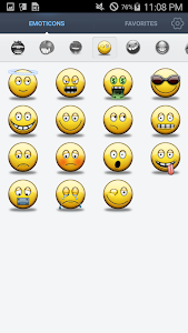 Face Emoticons Stickers screenshot 6