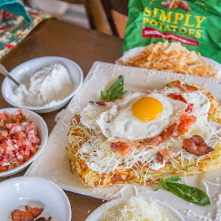 Hash Brown Family Brunch Breakfast Pizza Recipe