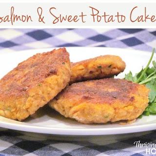 Salmon and Sweet Potato Cakes