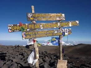 Photo: Az 5895 m-es csúcs 2010-ben