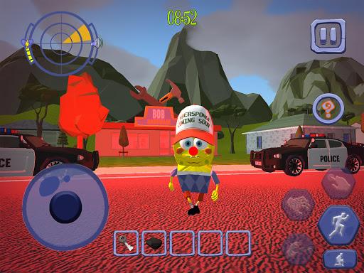 Scary Clown Sponge Vader Neighbor. Escape apkdebit screenshots 11