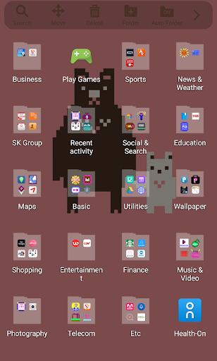 【免費個人化App】Pixel Art - Brown Bear Theme-APP點子