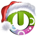 Santa on the way free theme icon