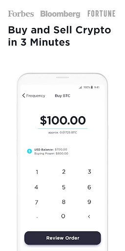 Gemini: Buy Bitcoin Instantly modavailable screenshots 2