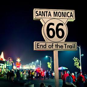 Home Crowd by F r a n k N s t y l e - Products & Objects Signs ( sign, santa monica, street, billboard, scene )