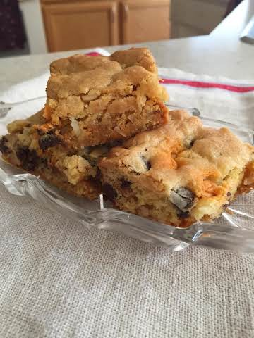 Easy Loaded Cookie Bars