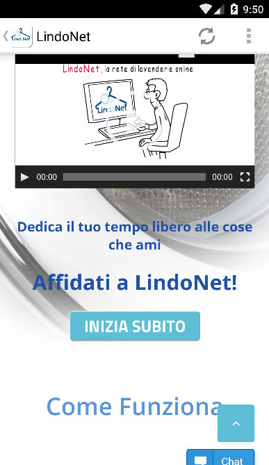 LindoNet- screenshot