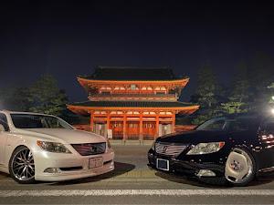 LS USF40のカスタム事例画像 まるLS460→京相一家京都支部さんの2020年10月15日01:56の投稿