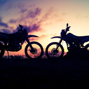 Klx.jpg by Yudya Daton - Transportation Motorcycles