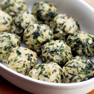 Chicken & Spinach Meatballs