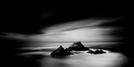 """Photo: """"Seal Rock 1"""" - http://www.createwithlightphotography.com  I was in San Fran last month for the +A Slice of Time - SF Bay Photowalk 2013. This image is from a pre-breakfast solo shoot on the Monday morning after the Photowalk. After this session I met up with +Nathan Wirth , +Athena Carey , +Alan Allum and +John Kosmopoulos for breakfast and spent a wonderful day shooting around Pacifica and beyond with such amazing company.  This image is in the top 3 of my favorite images of the weekend. Seal Rock is such a famous scene and has been photographed a billion times. There is a small handful of photographers that have created some truly spectacular images of these famous rocks, for example +Steve-Maxx landeros and +Nathan Wirth!! This makes it extra difficult to come up with something unique, but not impossible :-) The conditions really were exceptional that morning, which made all the difference. Sometimes the Gods smile upon you and everything comes together.  I used a 10 stop and 3 stop ND filter and 3 stop hard grad ND filter, to get the right level of contrast in the sky, water and around the rocks.  The techie stuff:  Sony A850 D-SLR Zeiss 16-35mm Lens ISO: 100 Aperture: f/11 Exposure: 87 seconds Focal Length: 24mm Filters: Lee Big Stopper ND filter, Lee 3 stop ND filter and Lee 3 stop hard grad ND filter  This is my contribution to the #LongExposureThursday theme, kindly curated by +Francesco Golaand +Le Quoc, the #ThirstyThursday theme, kindly curated by +Giuseppe Basileand +Mark Esguerra, the #FineArtPls theme, curated by the lovely +Sarah Marinoand +Fineao Fang , the #landscapephotography theme run by +Bill Wood, the #BWFineArtLE theme, curated by the amazing Mr +Joel Tjintjelaar and +Black and White Fine Art Photography Gallery , #RectanglesAreSexy curated by the spectacular +Athena Carey, the #SeaTuesday theme by incredibly talented +Julia Anna Gospodarou, the #DeneMilesIsFabulous theme curated by my wonderful friend, muse and supporter +dene' miles,"""