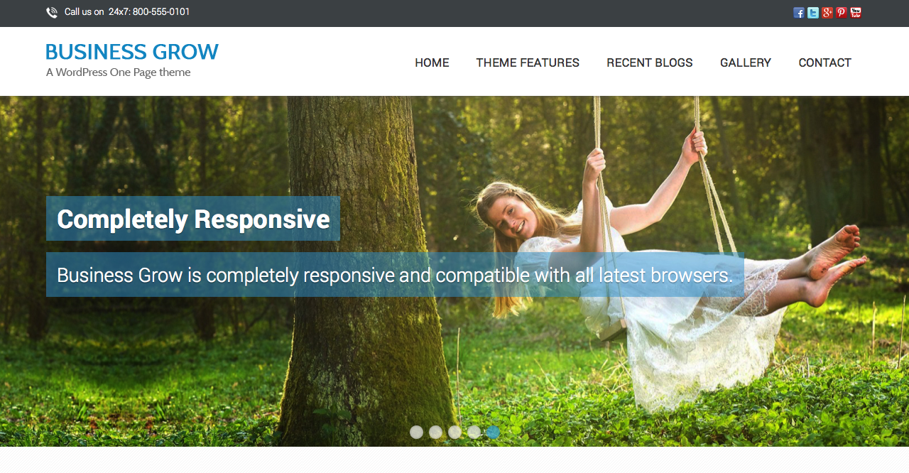 Business Grow WordPress Theme