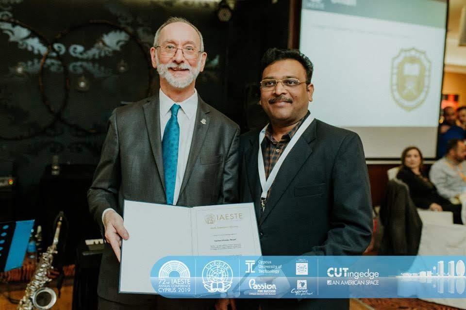 IAESTE Award