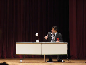 Photo: 小濱先生名座長