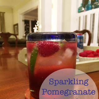 Sparkling Pomegranate Spritzer