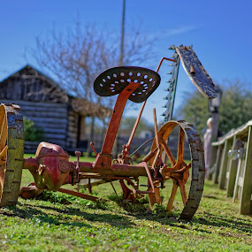 Different view of the ancient farming device.:-) by Ricky Niell - Artistic Objects Antiques (  )
