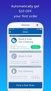 FlyCleaners: Laundry On-Demand- screenshot thumbnail