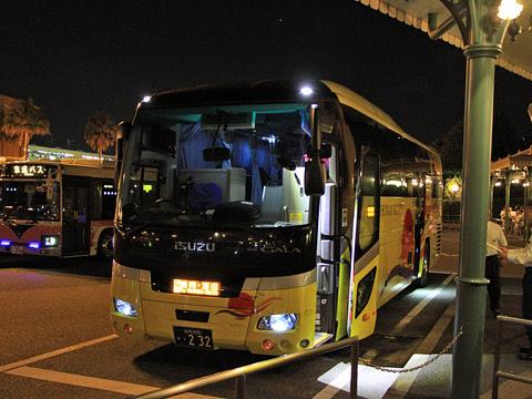 庄内交通「夕陽号」東京駅TDL線 ・232 TDL改札中