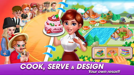 Cooking World: Casual Cooking Games of my cafe' screenshots 1