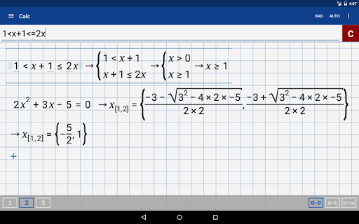 Math + Graphing Calculator screenshot 09