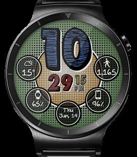 Retro Pop HD Watch Face Widget & Live Wallpaper