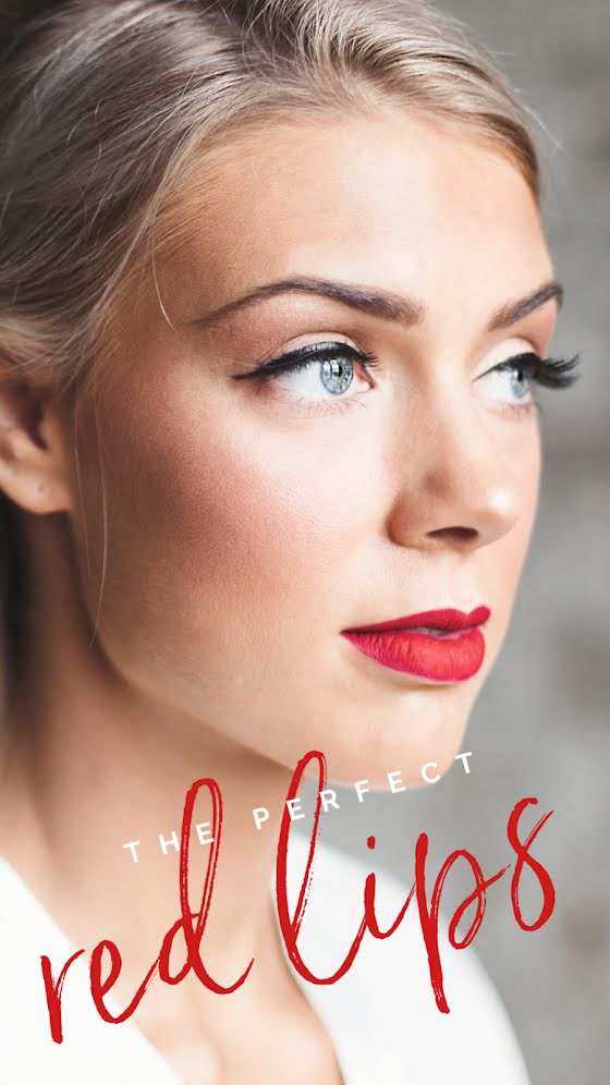 The Perfect Red Lips - Facebook Story Template