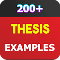Thesis Examples icon