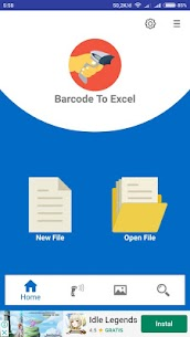 Barcode To Excel – Barcode & QR Code Scanner 1