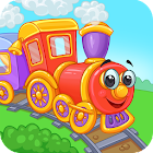 Railway: train for kids icon