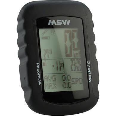 MSW Miniac GPS-322 GPS Cycling Computer