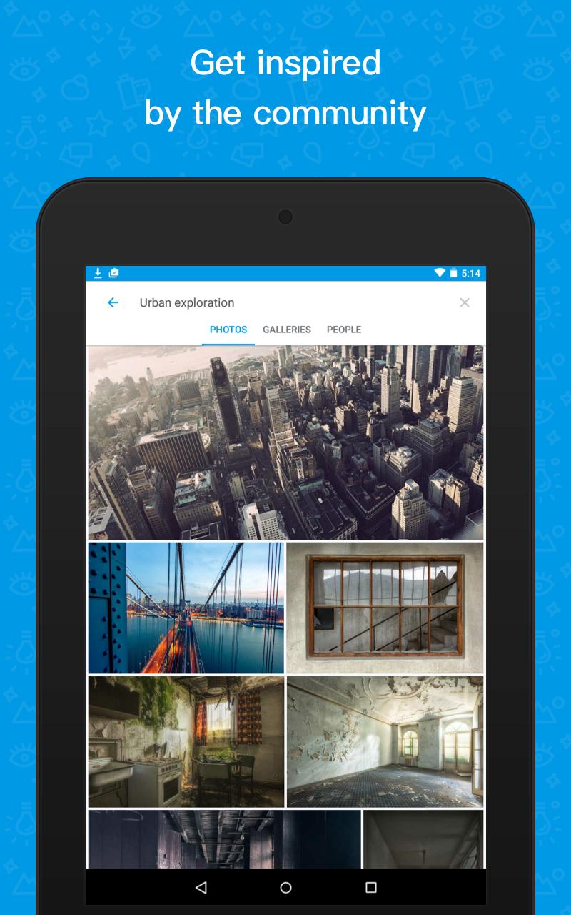 500px – Discover great photos Screenshot 11