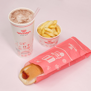 Hot Dog'n Milkshake + Chips